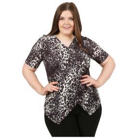 CANDY CURVES Shirt schwarz/weiß/grau
