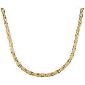 Herringbonekette 375 Gelbgold ca. 45 cm