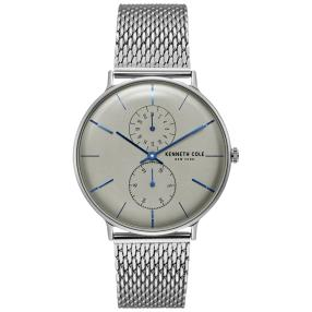 Kenneth Cole Herrenuhr Quarz Milanaiseband