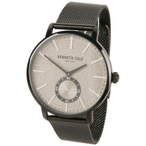 Kenneth Cole Herrenuhr Quarz schwarz