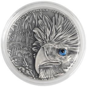 Silbermünze Philippinenadler