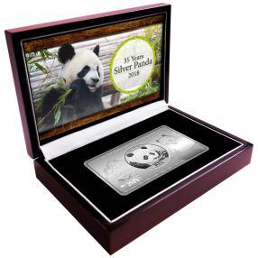 Pandabarren 35 Jahre Silver Panda