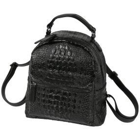 Bags by CG Rucksack schwarz alligator
