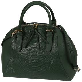 Bags by CG Henkeltasche grün snake