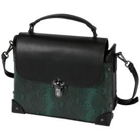 Bags by CG Henkeltasche  grün python