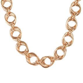 Collier Bronze, rosévergoldet