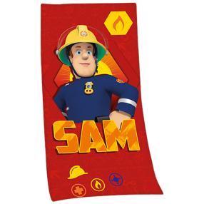 Badelaken Feuerwehrmann Sam 75x150cm