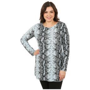 MODERN TIMES Damen-Pullover 'Phyton' hellblau