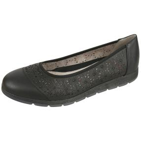 Relife® Damen Slipper schwarz