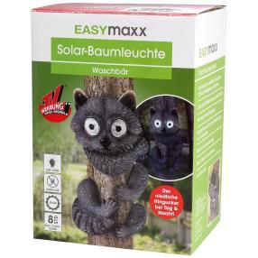 """EASYmaxx Solar-Baumtier """"Waschbär"""""""