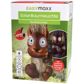 """EASYmaxx Solar-Baumtier """"Eichhörnchen"""""""