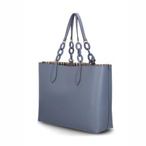 Burberry Shopper slate blue