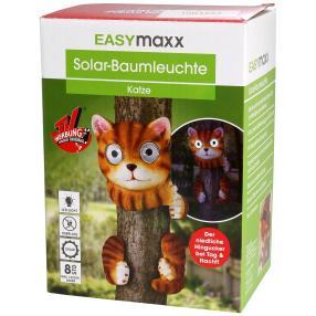 "EASYmaxx Solar-Baumtier ""Katze"""