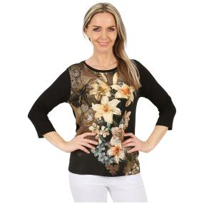 MILANO Design Shirt 'Laurena' multicolor