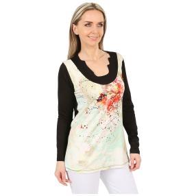 MILANO Design Shirt 'Gloria' multicolor