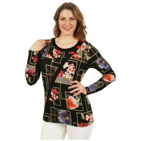 MILANO Design Shirt 'Samira' multicolor