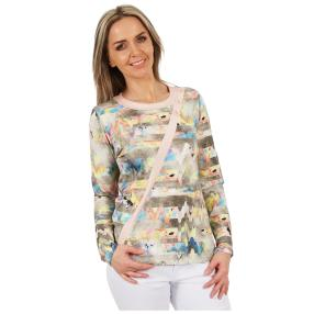 MILANO Design Shirt 'Romina' multicolor