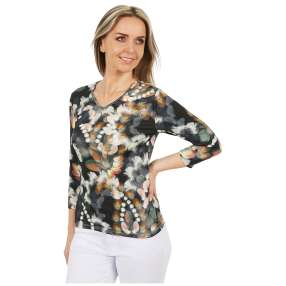 MILANO Design Shirt 'Cleo' multicolor
