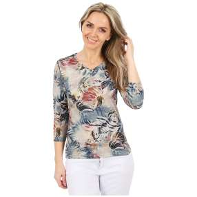 MILANO Design Shirt 'Tiziana' multicolor