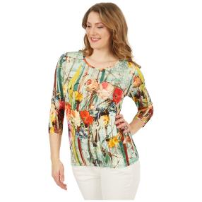 MILANO Design Shirt 'Valeria' multicolor