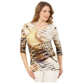 MILANO Design Shirt 'Gianna' multicolor