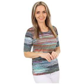 MILANO Design Shirt 'Greta' multicolor