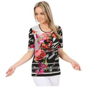 MILANO Design Shirt 'Anita' multicolor