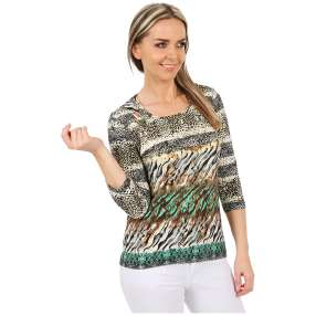 MILANO Design Shirt 'Lea' multicolor