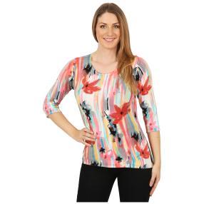IMAGINI Feinstrick-Pullover 'Posada' multicolor