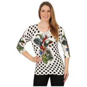IMAGINI Feinstrick-Pullover 'Vagnole' multicolor