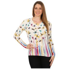 IMAGINI Feinstrick-Pullover 'Sabatella' multicolor