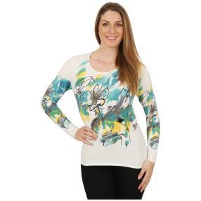 IMAGINI Feinstrick-Pullover 'Caprioli' multicolor
