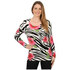 IMAGINI Feinstrick-Pullover 'Vallena' multicolor