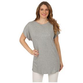 Damen-Shirt 'Carrie' mit Strass grau