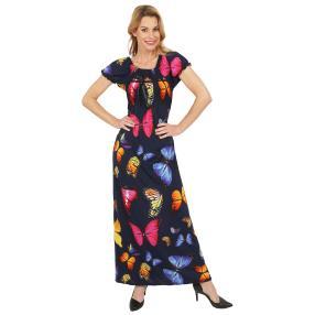 Damen-Sommerkleid 'Butterflies' multicolor
