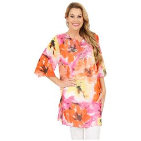Damen-Tunika 'Happy Sun' multicolor