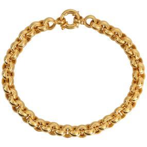 Armband 916 Gelbgold