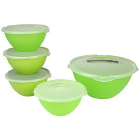 Salatschüsselset grün