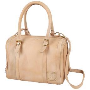 NATURGEWALT Leder Bowlingbag beige