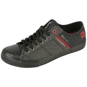 BIG STAR Sneaker schwarz