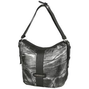 Marc Chantal Metallic Tasche schwarz