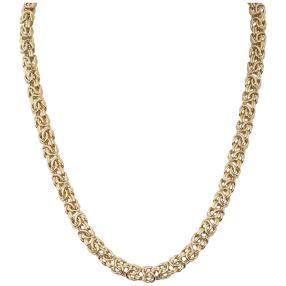 Königskette 925 Sterling Silber vergoldet