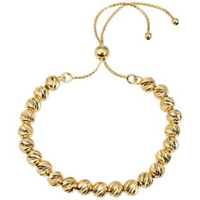 Armband 925 Silber vergoldet, längenvariabel
