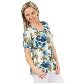 MILANO Design Shirt 'Pamela' multicolor