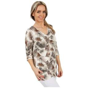 MILANO Design Longshirt 'Fernanda' multicolor