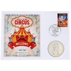 Monaco Numisbrief Zirkus