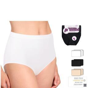 2er Pack Damen-Seamless-Slip weiß