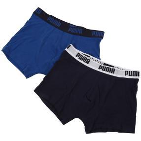 2er Pack PUMA Boxershort, blau & marine
