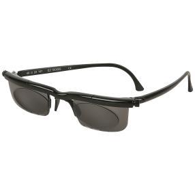 Adlens® Sonnenbrille schwarz