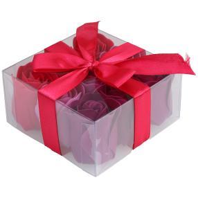 Geschenkbox Baderose Viereck